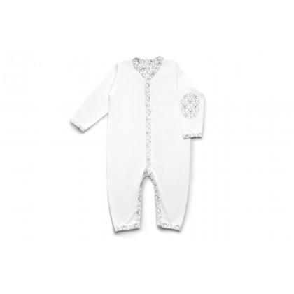 Pyjama sans pieds - Blanc