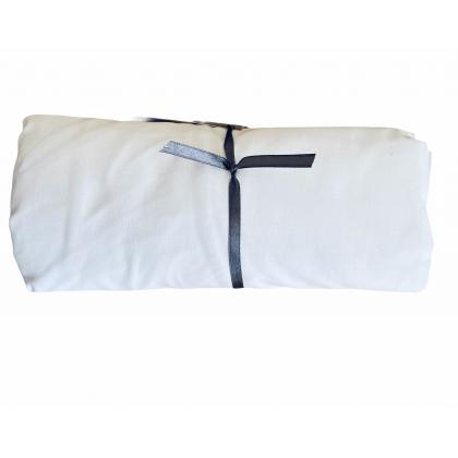 Drap de lit 70x140cm - Blanc
