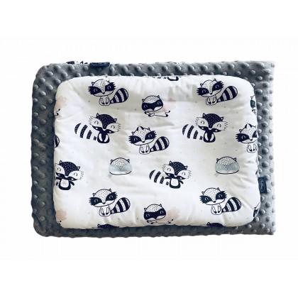 Parure de lit avec rembourrage - Raton Laveur