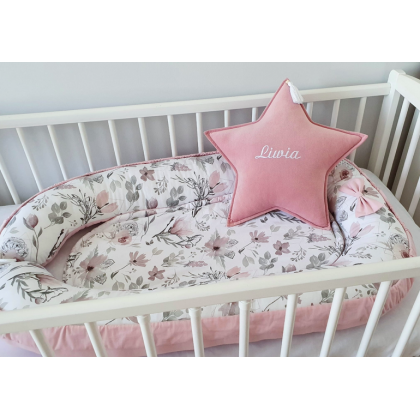Nid de bébé / cocon - Magnolias