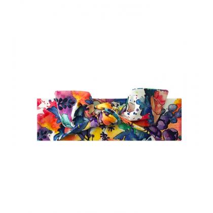 Bandeau avec un arc Jardin Coloré
