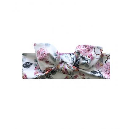 Bandeau avec un arc Rose Sauvage