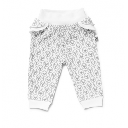 Pantalons sans pieds pour fille - Imprimé