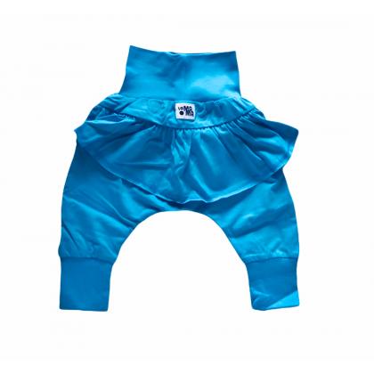 Pantalon Baggy à volants - Turquoise